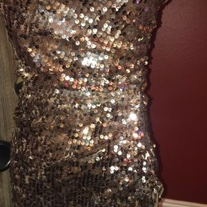 City Triangles Dresses - Sequin cocktail dress perfect holiday attire